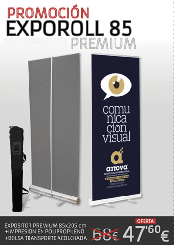 Oferta expositores y displays